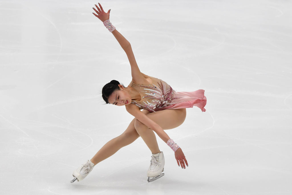 Chen Hongyi is favourite for the women's gold medal at the Cup of China ©Getty Images
