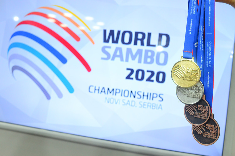 The President's term was extended on the eve of the World Sambo Championships ©FIAS