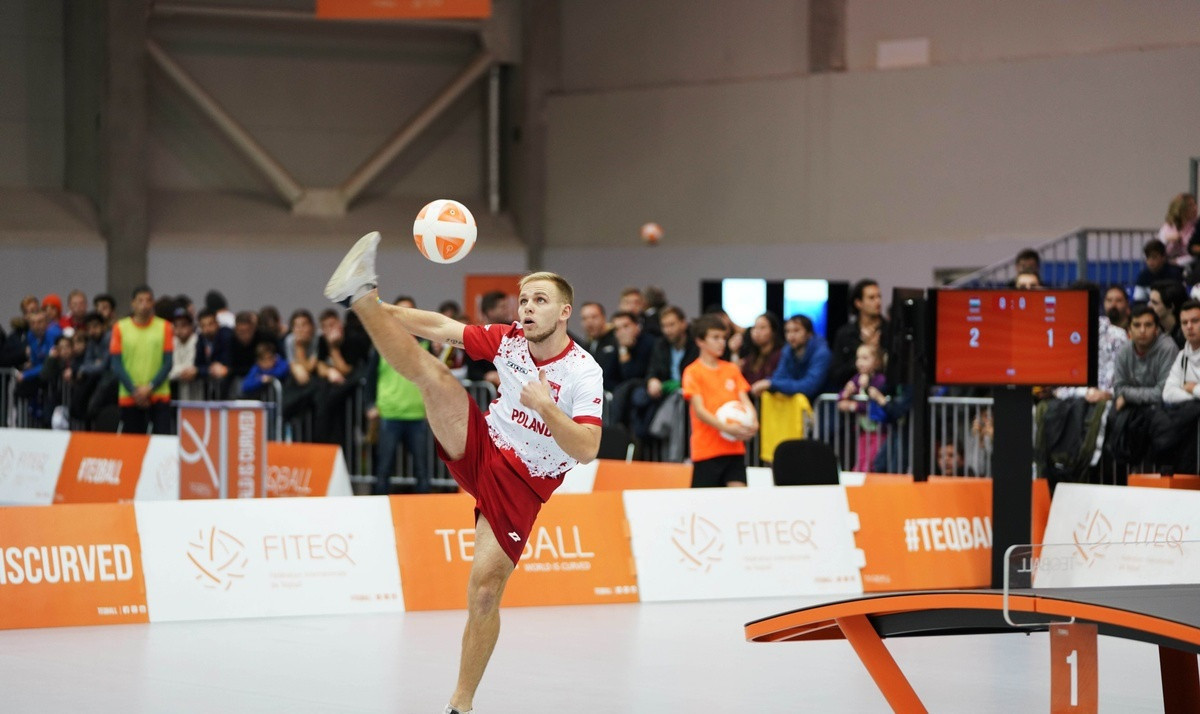 Poland's Adrian Duszak dropped down to number two in the FITEQ world rankings ©FITEQ