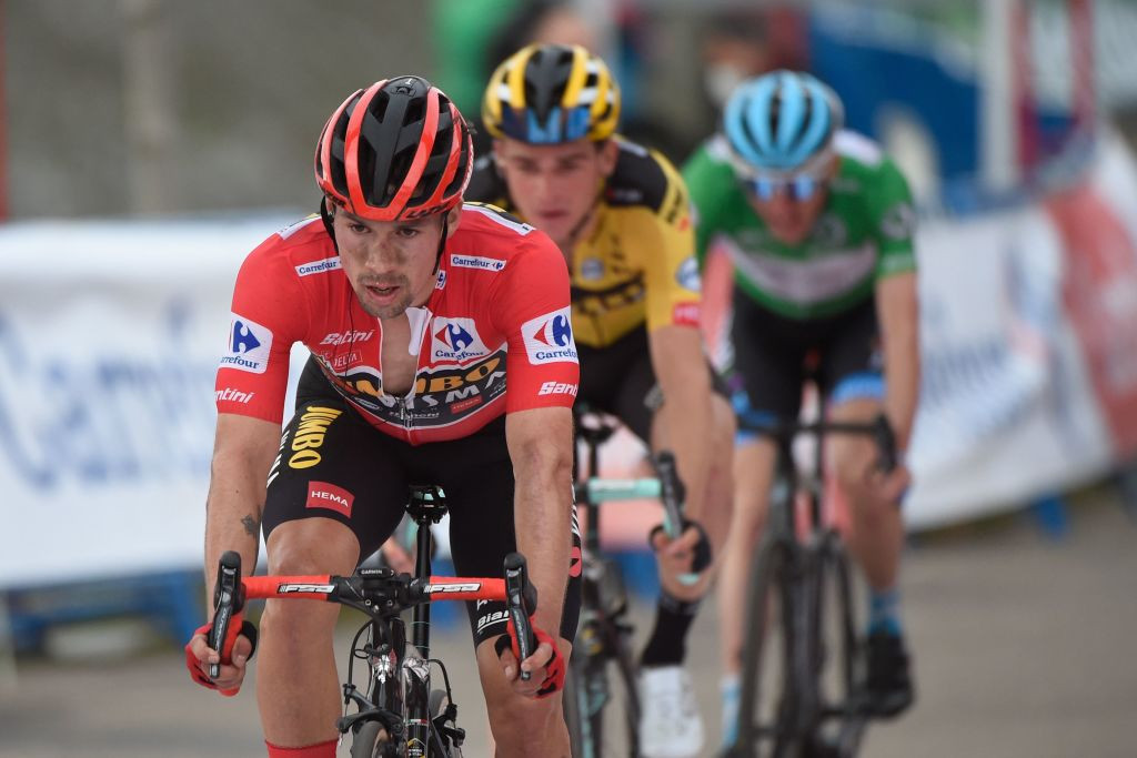 Roglič extends lead by six seconds on stage 16 of Vuelta a España