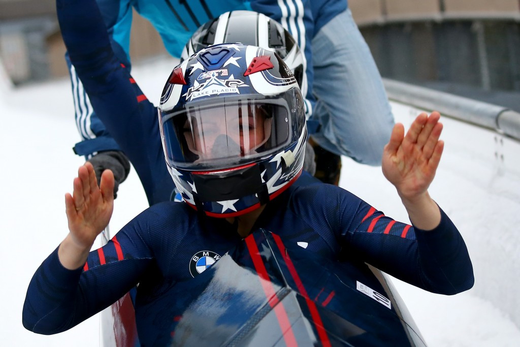 Greubel-Poser dedicates win to former coach on day of home success at Bobsleigh World Cup