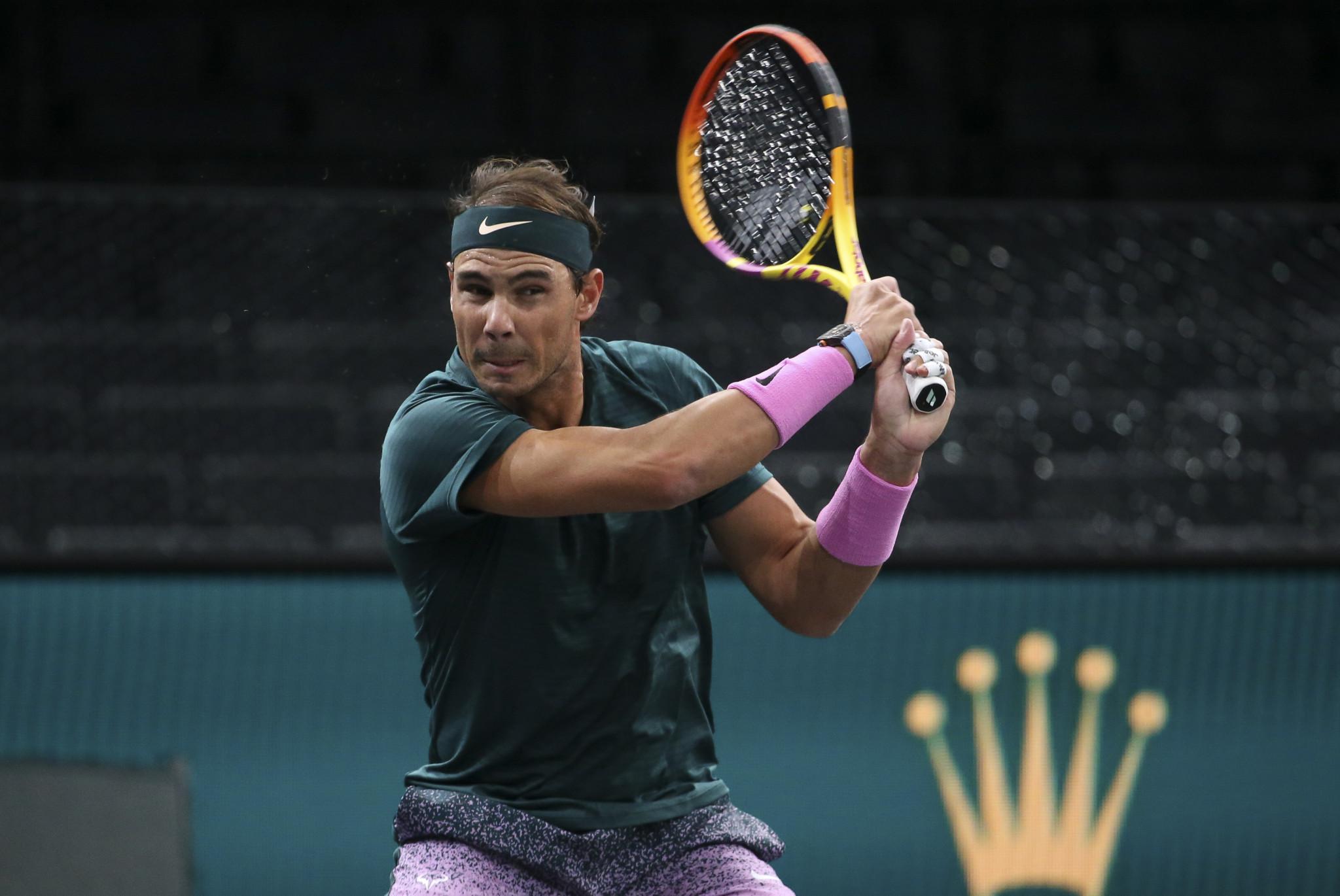 Nadal into Paris Masters final four as Schwartzman reaches ATP Finals