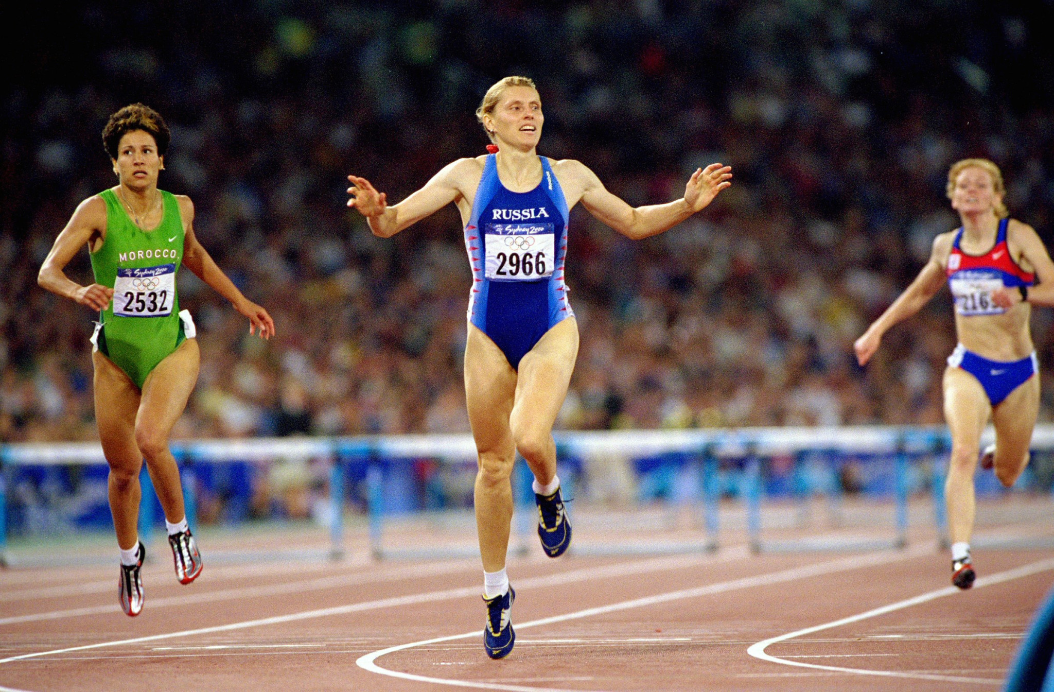 Sydney 2000 400m hurdles champion Irina Privalova is among the nominees for RusAF President ©Getty Images