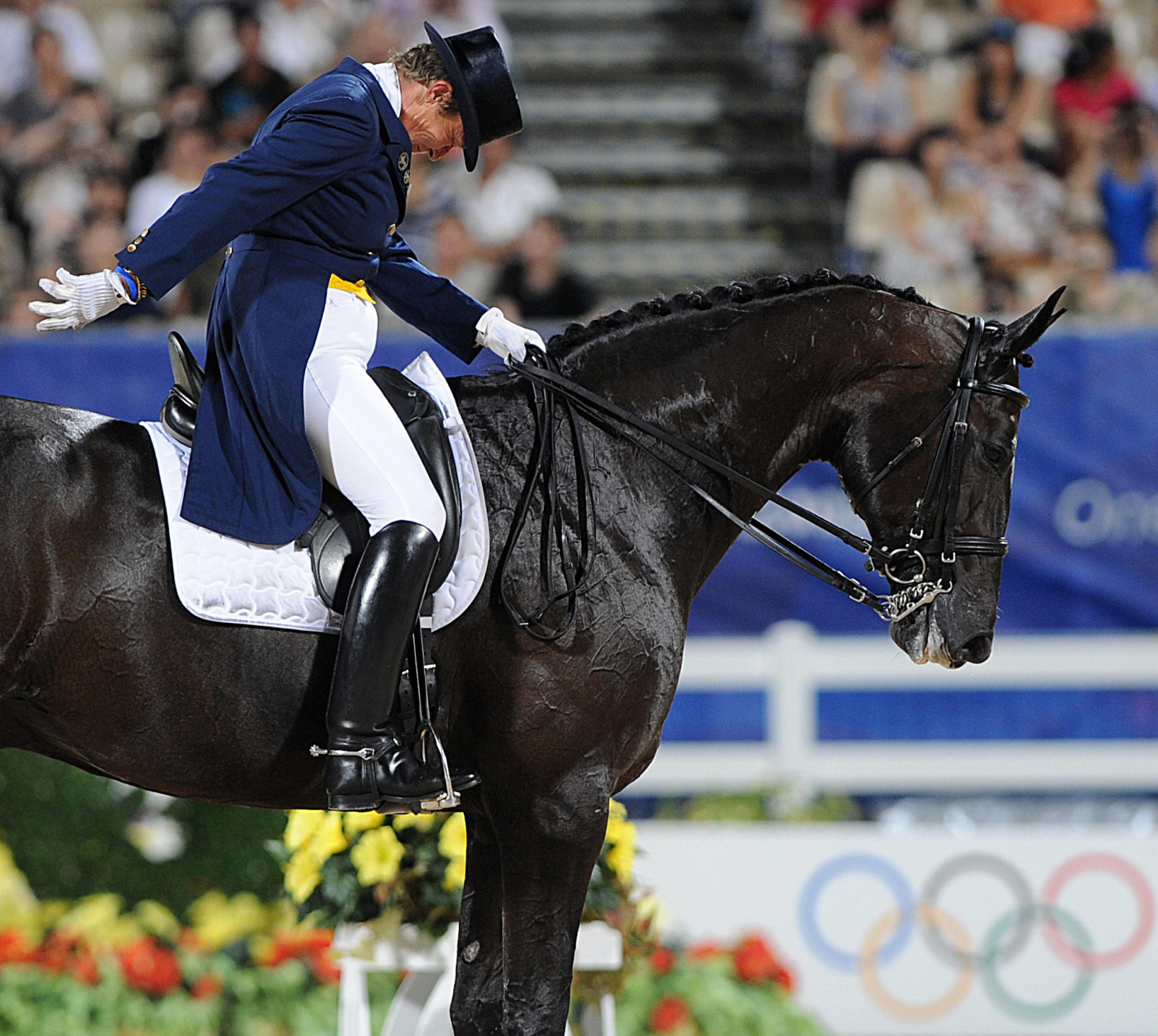 International Dressage Riders Club President Kyra Kyrklund sent the petition to the FEI ©Getty Images