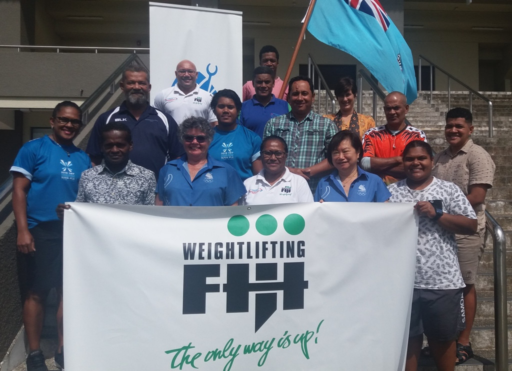 """FASANOC hails coaching workshop as """"exciting moment"""" for Weightlifting Fiji"""