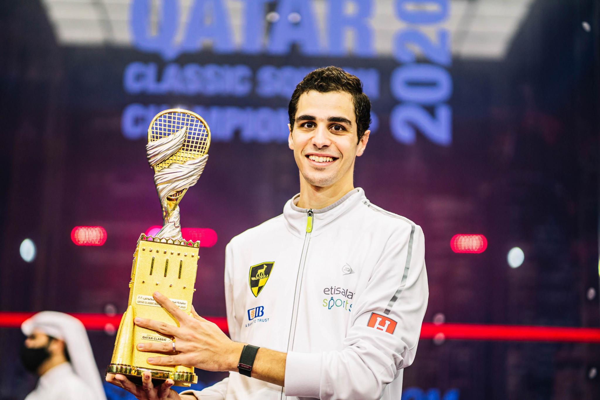 Farag extends winning streak over Coll to retain PSA Qatar Classic title