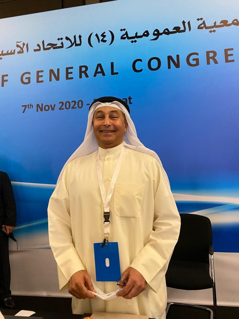 ASSF General Congress nominates Al-Musallam for FINA Presidency