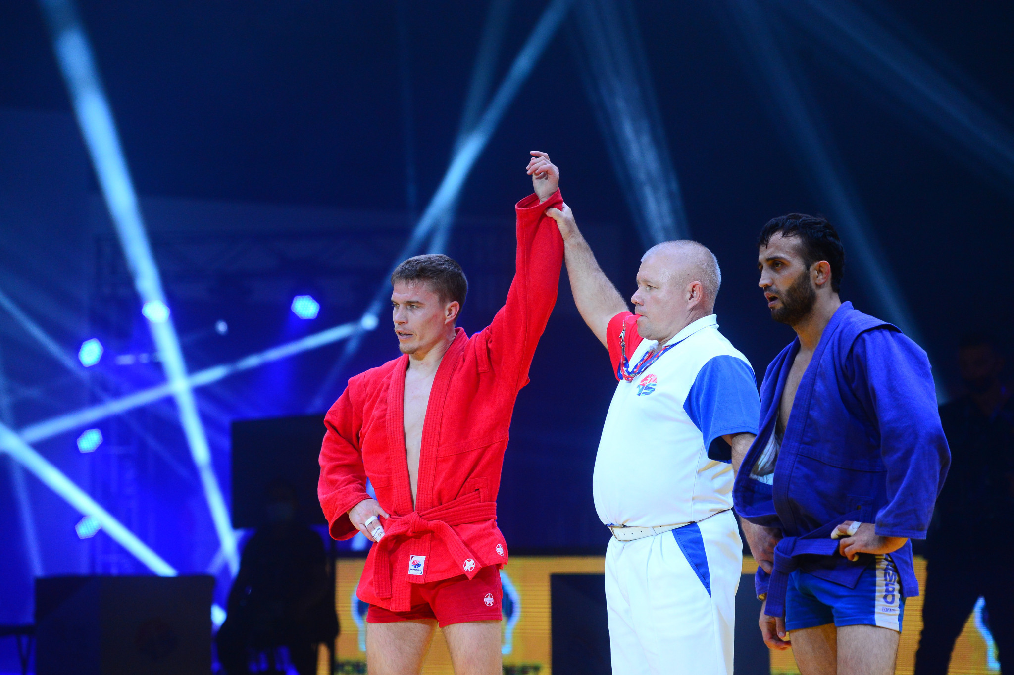 Russia and Belarus strike gold on day two of World Sambo Championships