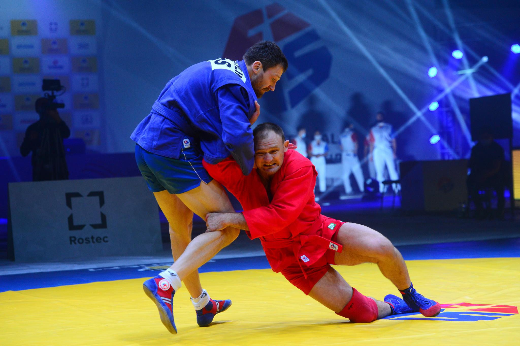 Bulgaria and Uzbekistan win first titles of 2020 World Sambo Championships