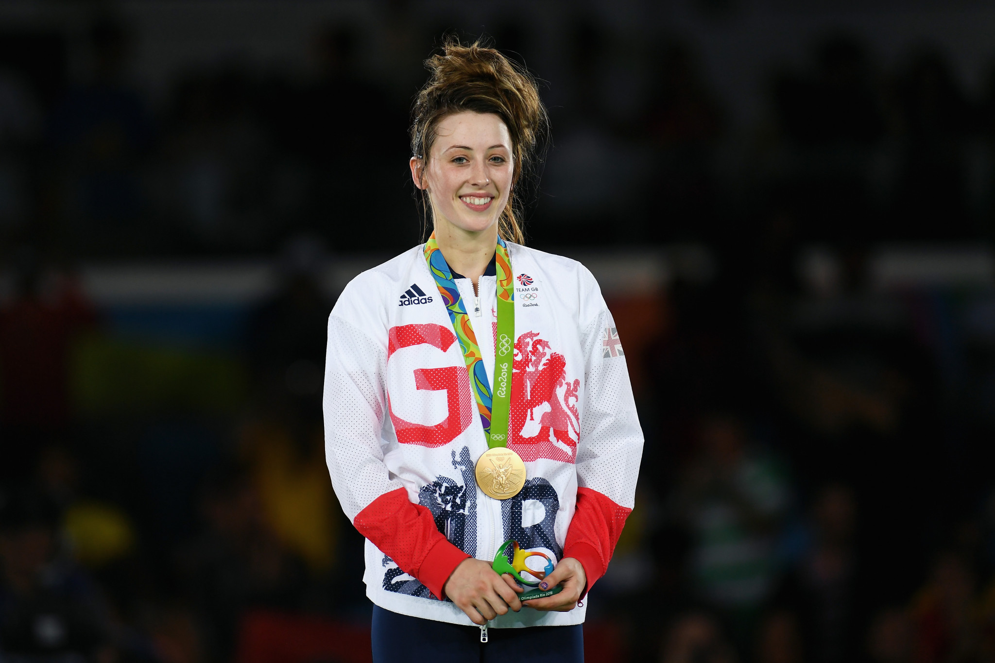 Jade Jones' gold was one of three taekwondo medals Britain won at the Rio 2016 Olympics ©Getty Images