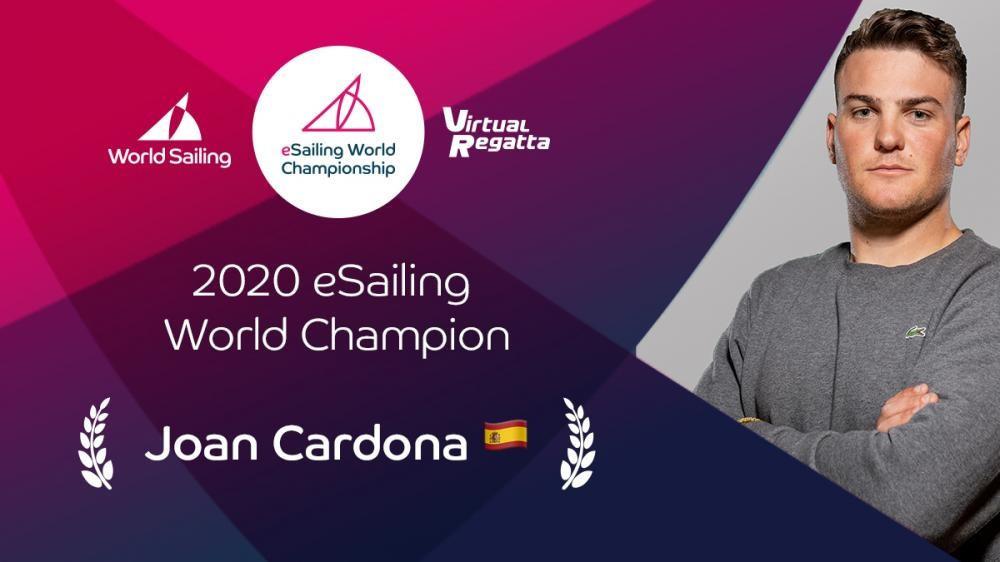 Spanish Olympian Cardona wins eSailing World Championship