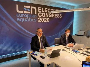 Barelli re-elected European Swimming League President after seeing off French rival
