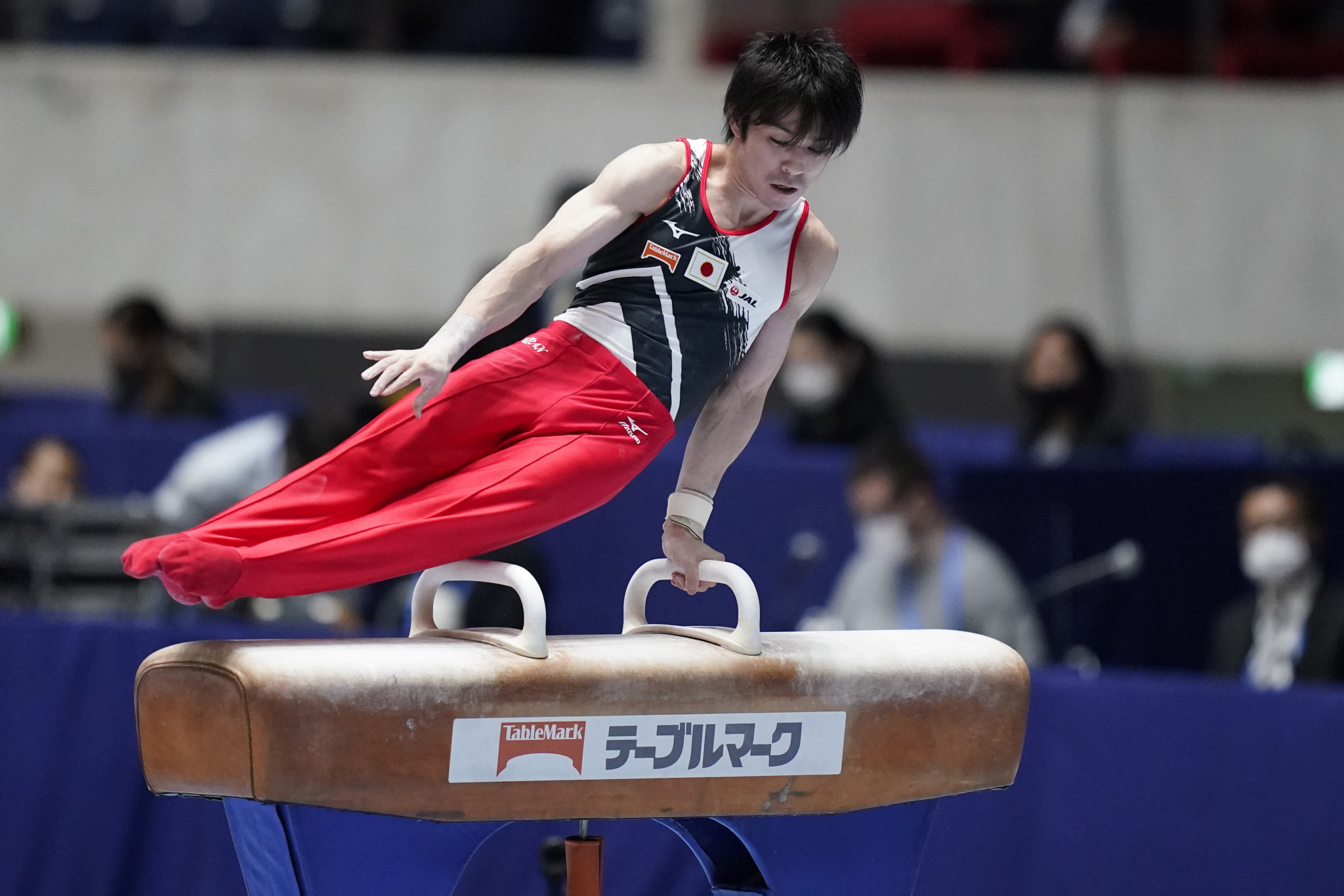 Team Solidarity win gymnastics event considered to be Tokyo 2020 dress rehearsal