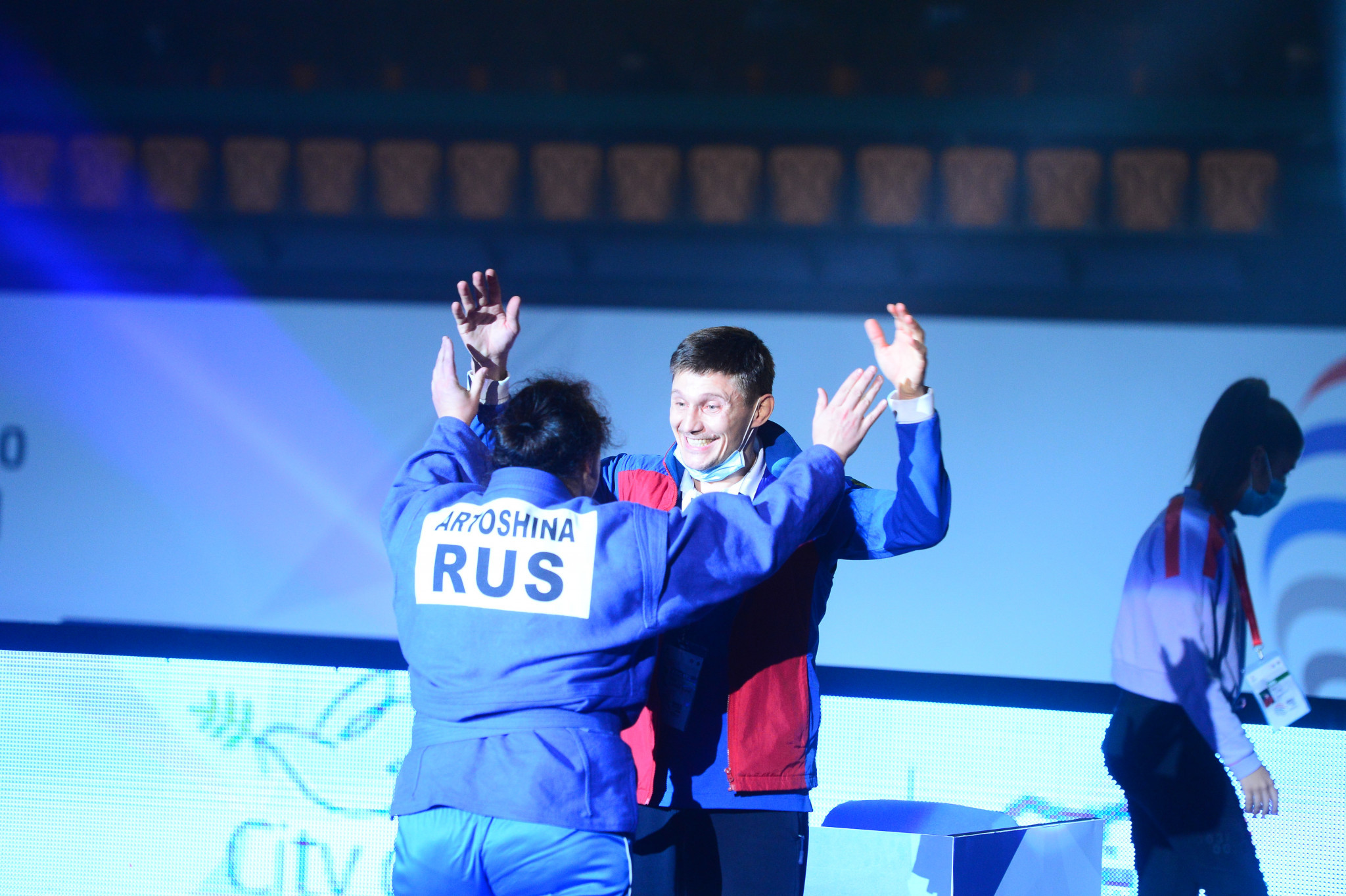 Russia win seven gold medals on last day of World Sambo Championships