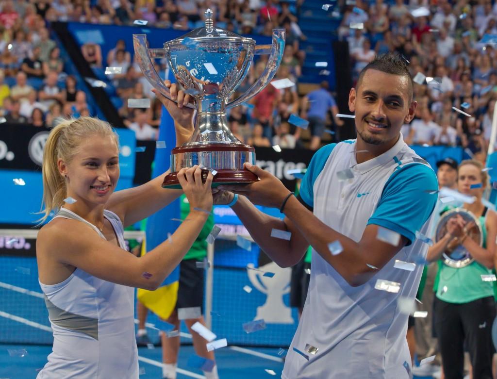 Kyrgios and Gavrilova secure Australia's first Hopman Cup triumph since 1999