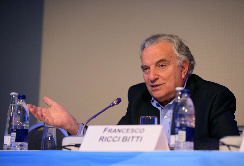 Ricci Bitti re-elected ASOIF President at virtual General Assembly