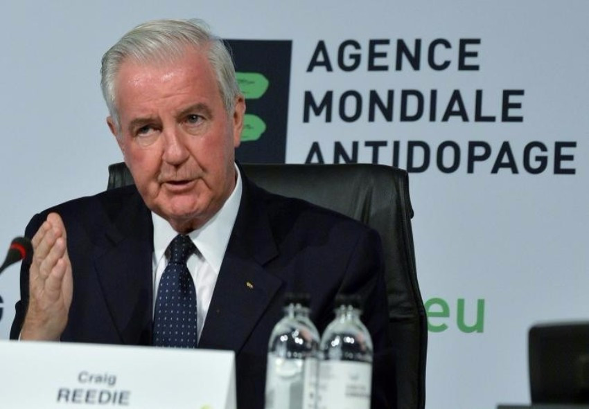 WADA President Sir Craig Reedie held a meeting with a delegation from the Russian Sports Ministry in September 2014 ©Getty Images
