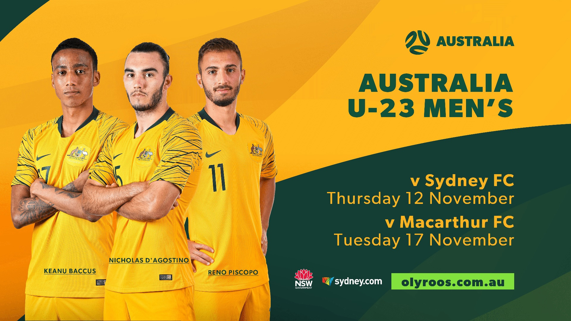 Olyroos players hope to impress at training camp to earn Tokyo 2020 place