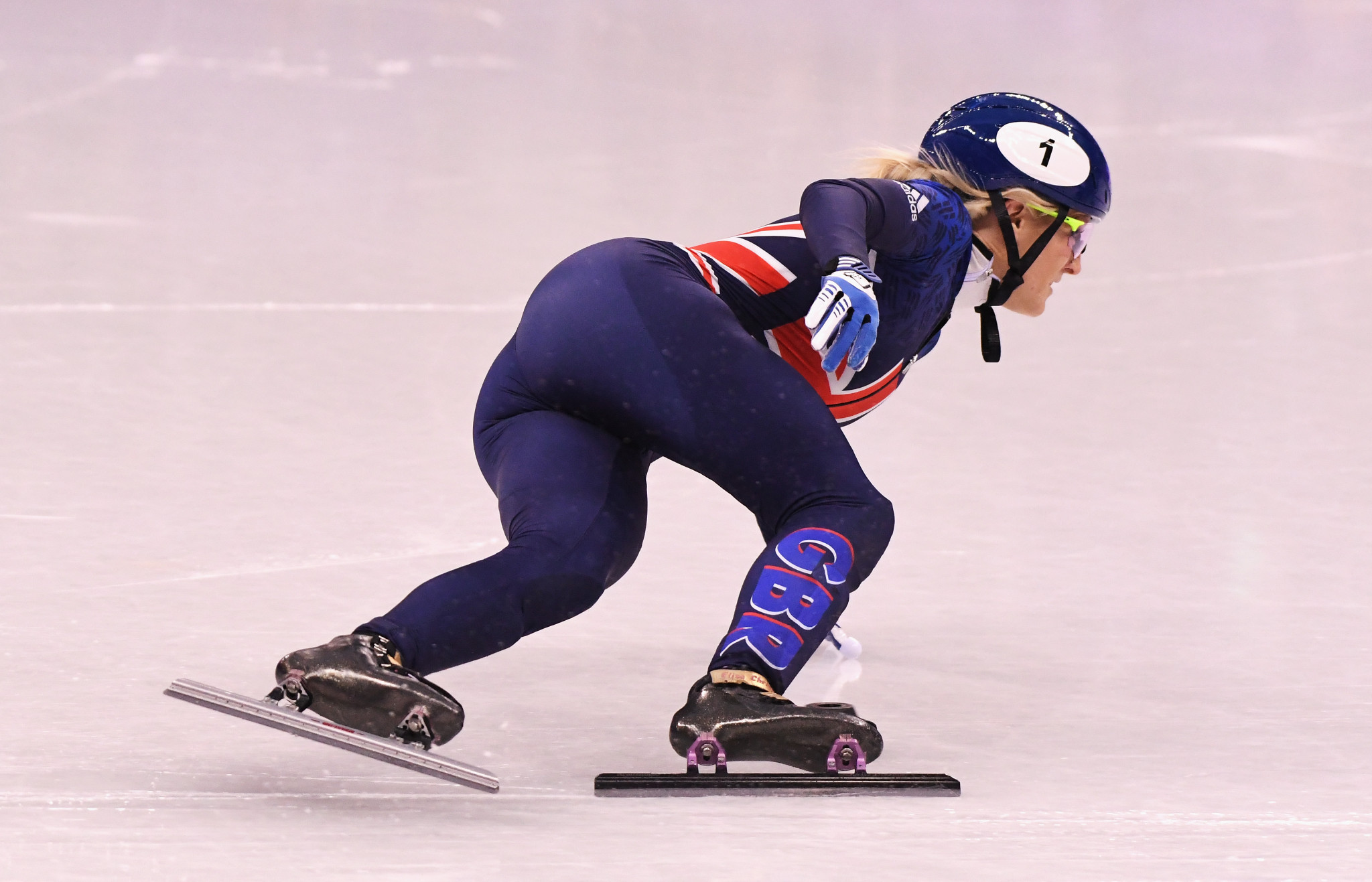 Elise Christie is a triple world champion but has so far endured disappointment at the Winter Olympics ©Getty Images
