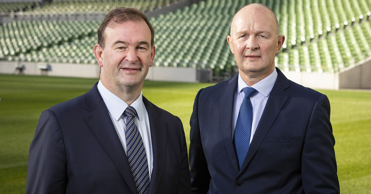 John Feehan and Derek McGrath, founders of Sport2Sport, are set to help the IWRF ©Sport2Sport