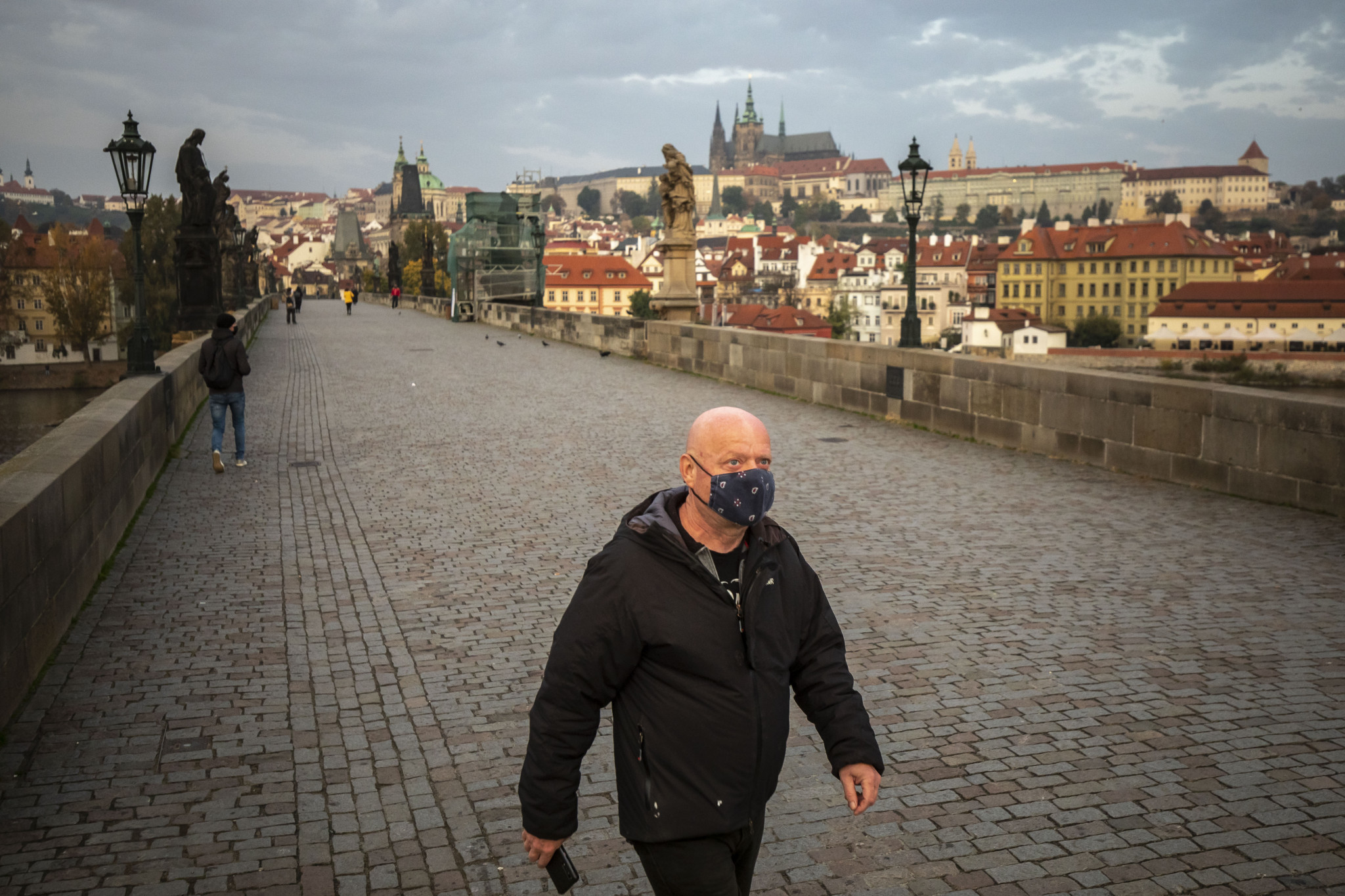 Prague has experienced an extreme rise in COVID-19 cases over the past month ©Getty Images