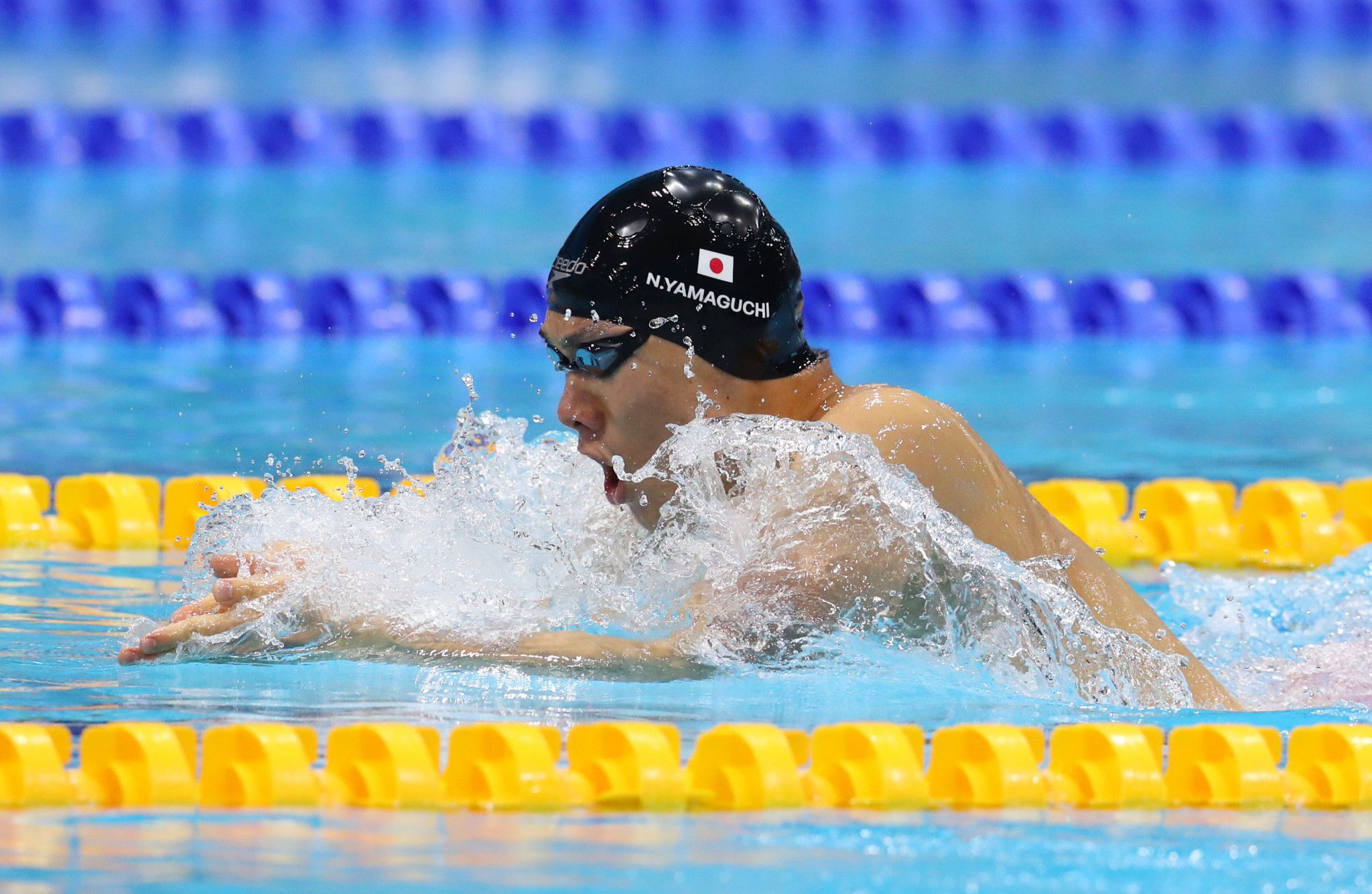 Yamaguchi lowers world record at domestic event in build-up to Paralympics