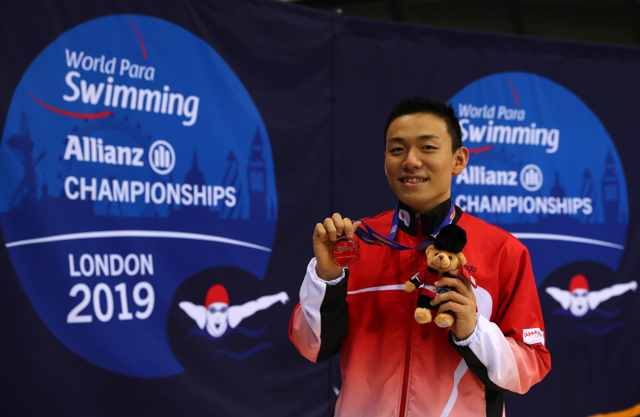 Naohide Yamaguchi won gold at last year's World Para Swimming Championships ©Getty Images