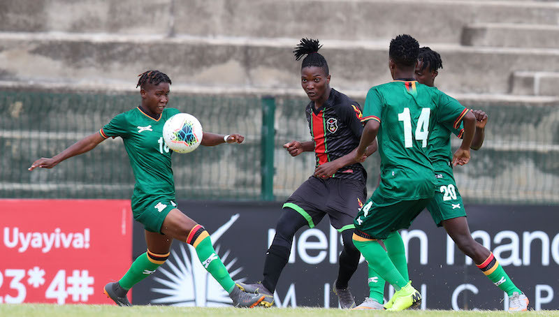 Zambia secured a place in the semi-finals of the COSAFA Women's Championship despite losing to Malawi ©Getty Images