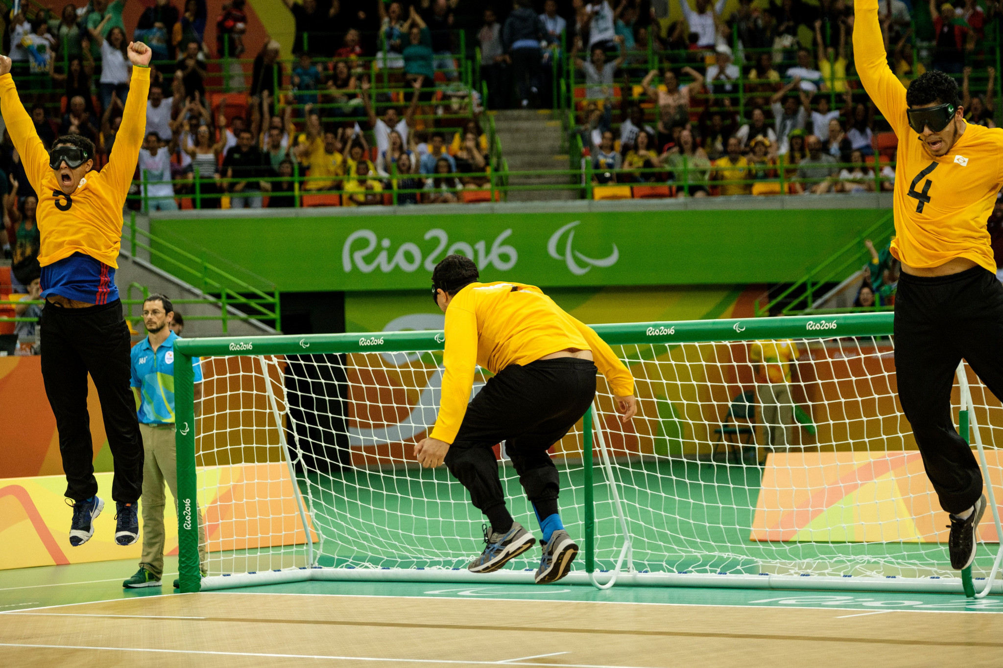 IBSA Goalball Committee regional representative Carla Da Mata claimed the Rio 2016 Paralympic Games helped the development of goalball in the Americas ©Getty Images