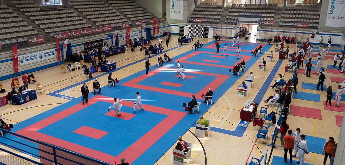 Karate events have returned to Spain following a coronavirus-enforced stoppage ©WKF
