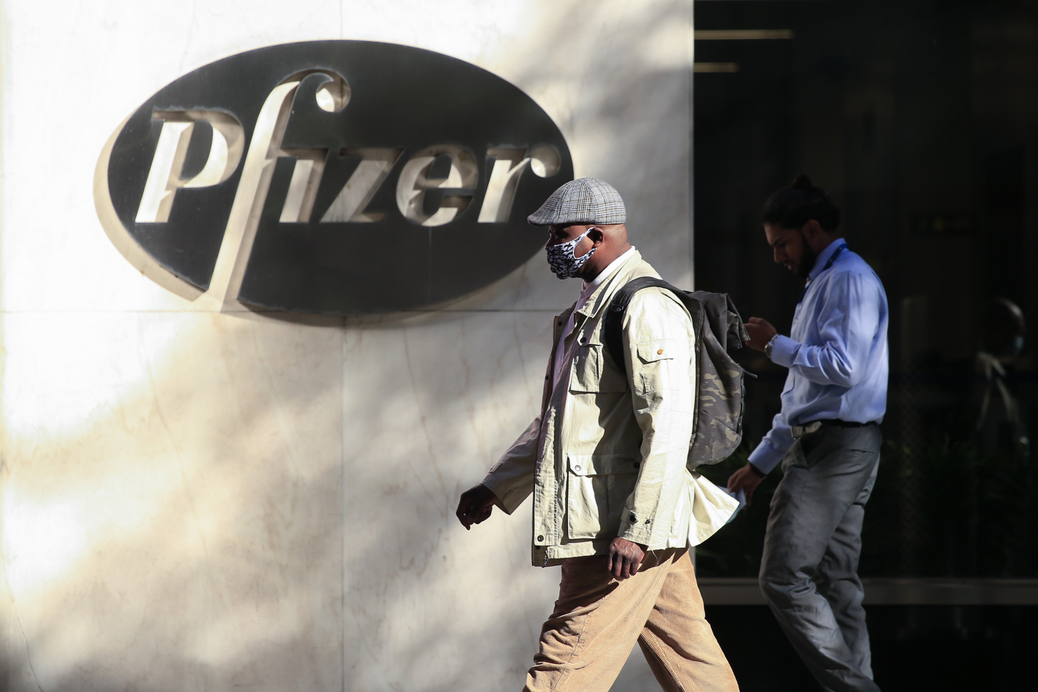 American pharmaceutical giant Pfizer claim there has been a