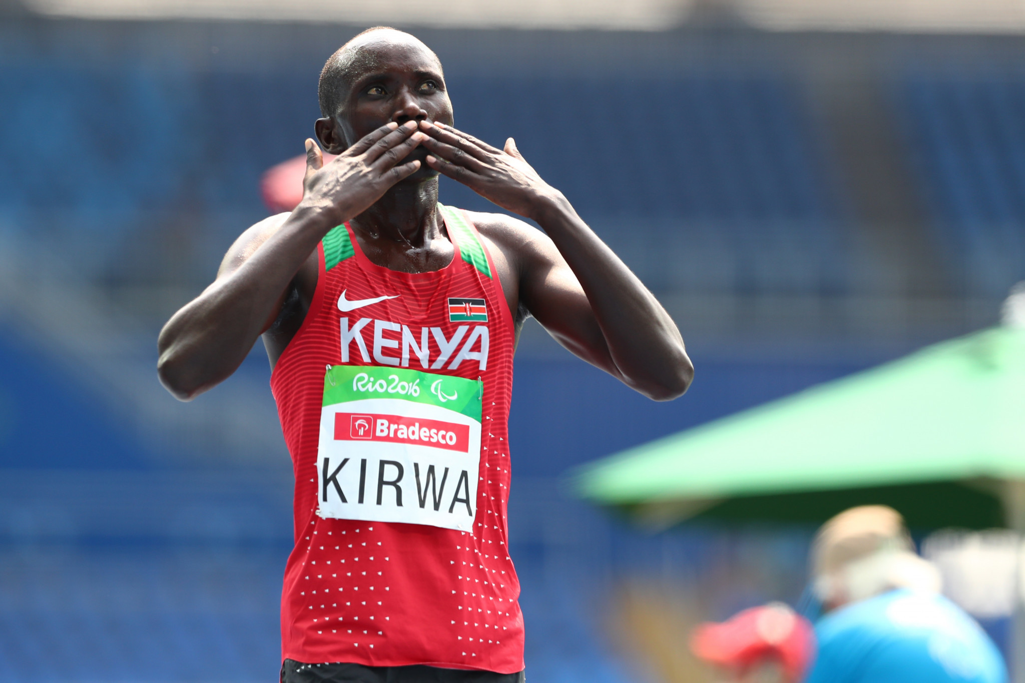 Paralympic 5,000m champion Kirwa to switch to marathon after Tokyo 2020