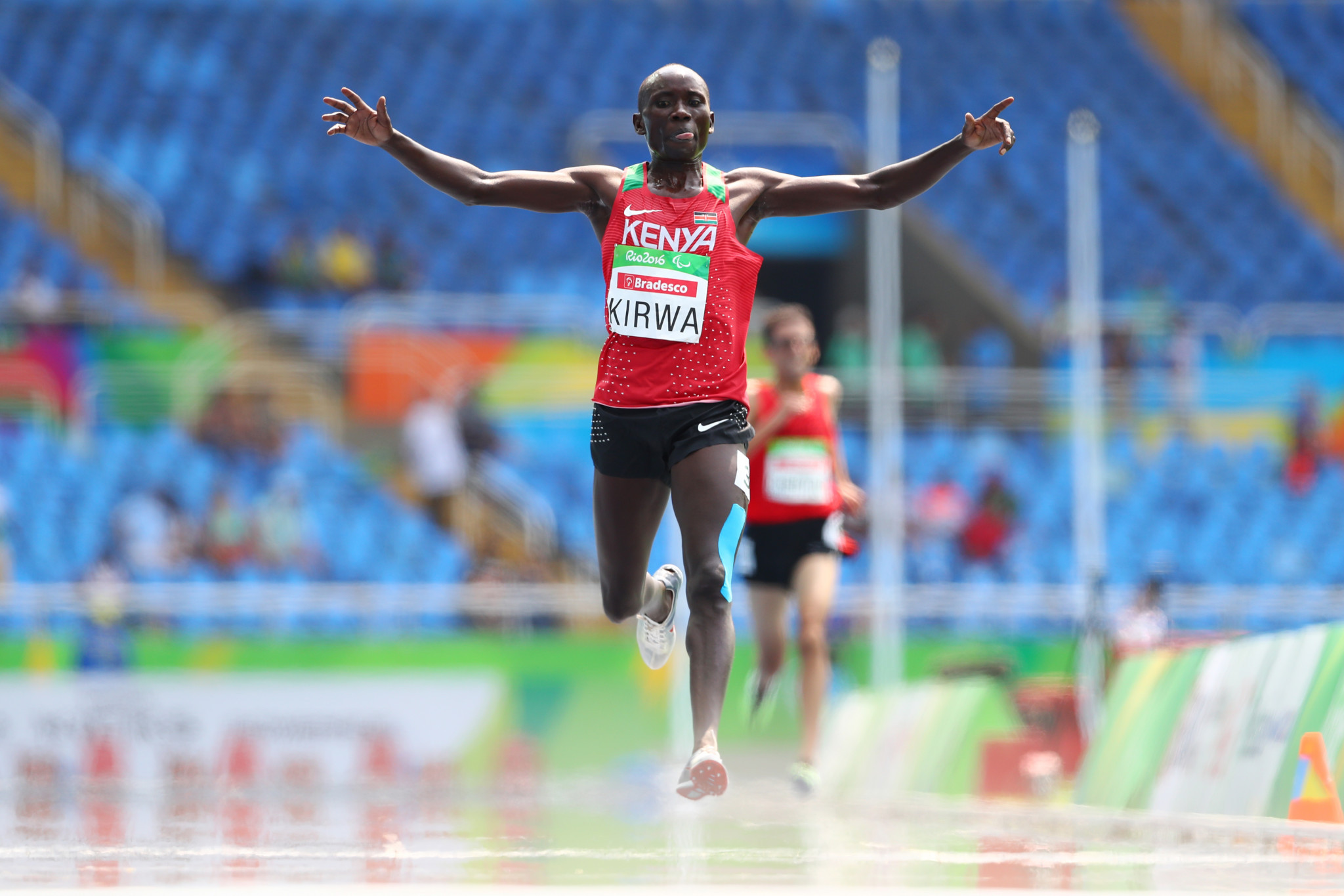 Henry Kirwa has earned four gold medals across three Paralympic Games during his career so far ©Getty Images