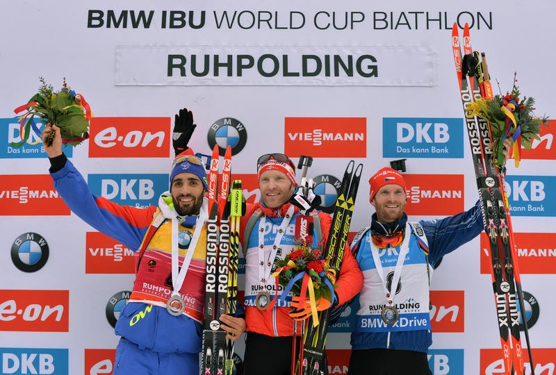 Austria's Eder claims first victory of IBU World Cup season in Ruhpolding