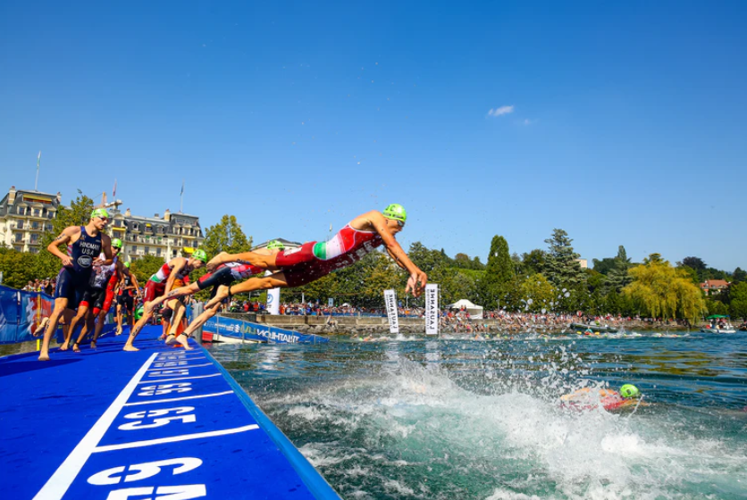 World Triathlon has renewed its partnership with sports and media experts Infront Sports & Media until the end of the 2028 season ©World Triathlon