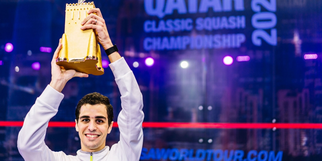 Farag strengthens lead in CIB Road to Egypt Standings after Qatar Classic win