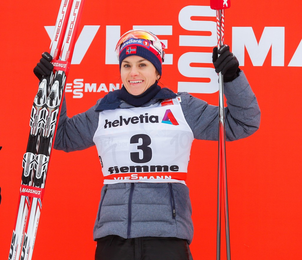 Heidi Weng claimed her first World Cup victory in Val di Fiemme ©Getty Images