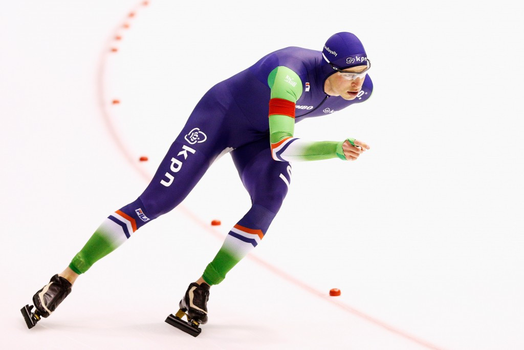 Sven Kramer is on course to extend his record tally of victories to eight