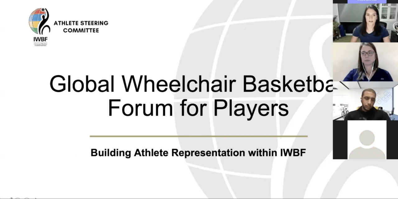 "IWBF Athlete Steering Committee receive ""extremely useful"" feedback on Players' Commission"