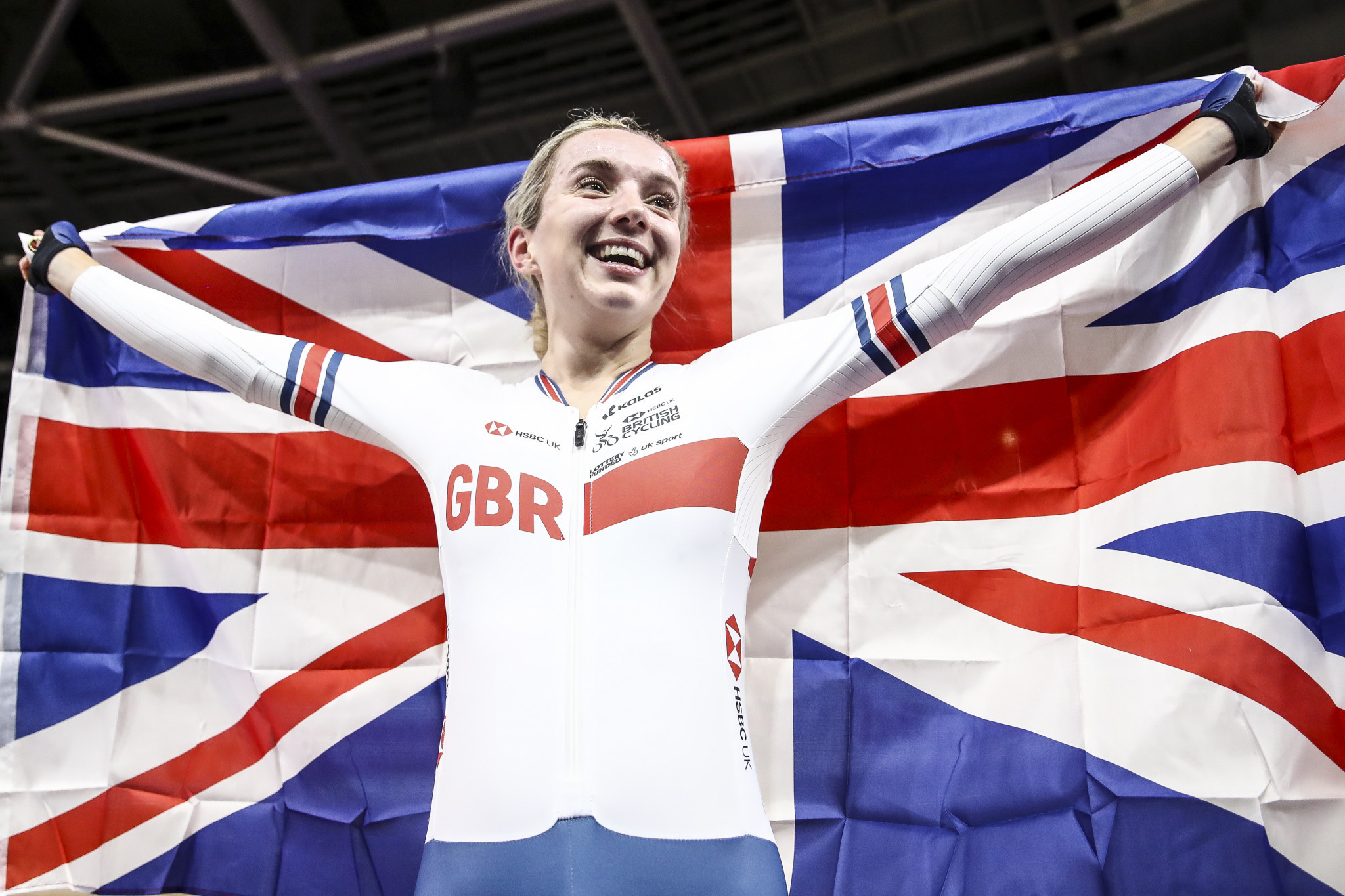 Elinor Barker says if necessary competing in an empty stadium would be preferable to cancelling Tokyo 2020 ©Getty Images