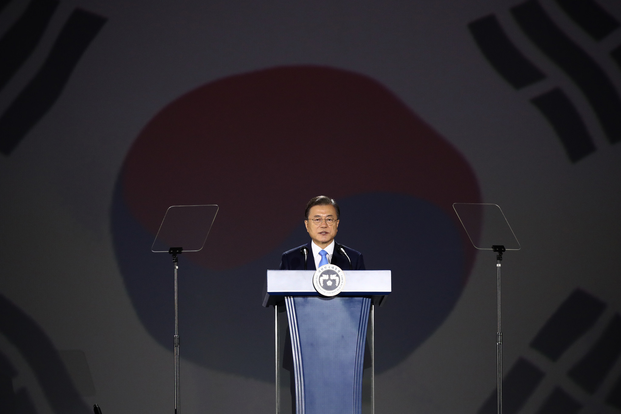 A South Korean spy chief has suggested the country's President is willing to normalise ties with Japan ©Getty Images