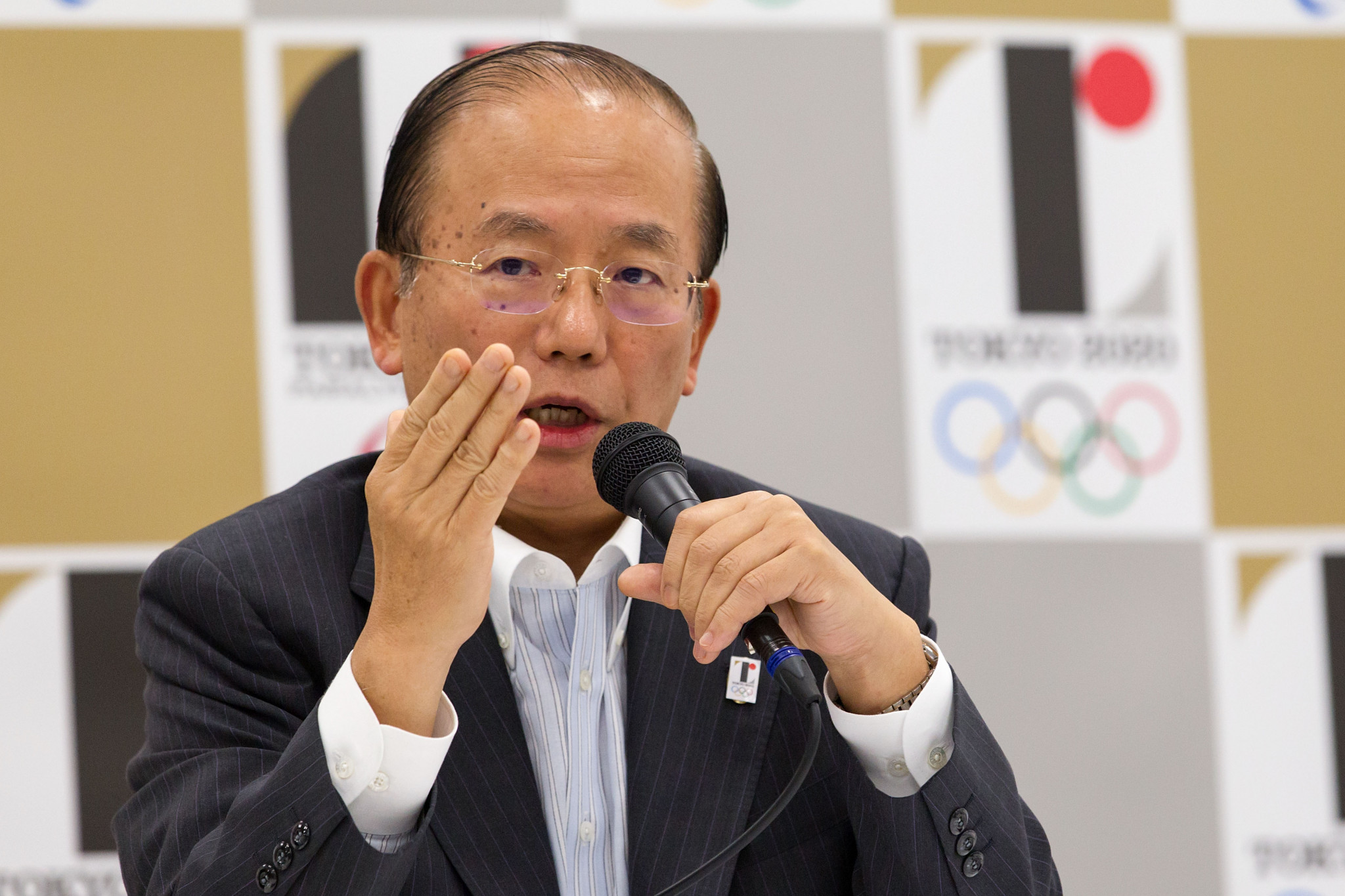 """Tokyo 2020 chief executive Toshirō Mutō says organisers will come up with measures for spectators """"by next spring"""" ©Getty Images"""
