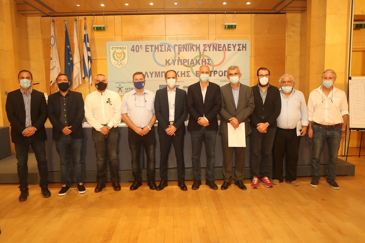Chrysostomou elected sixth President of Cyprus Olympic Committee