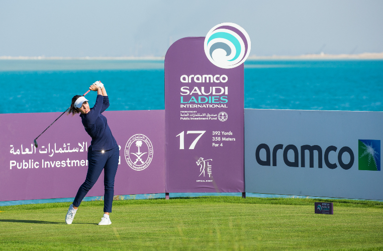 Georgia Hall leads by one shot after first round of Saudi Ladies International
