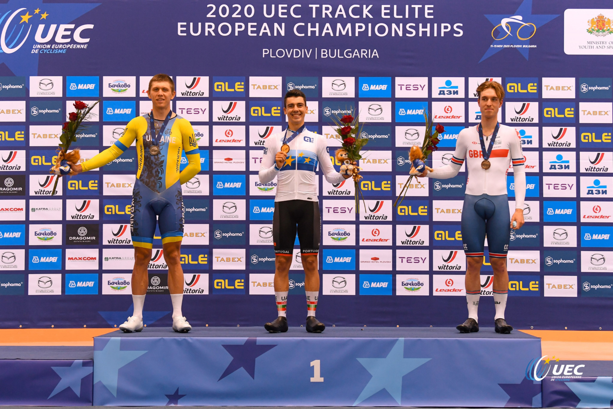 Double gold for Britain on day two of UEC Elite Track European Championships