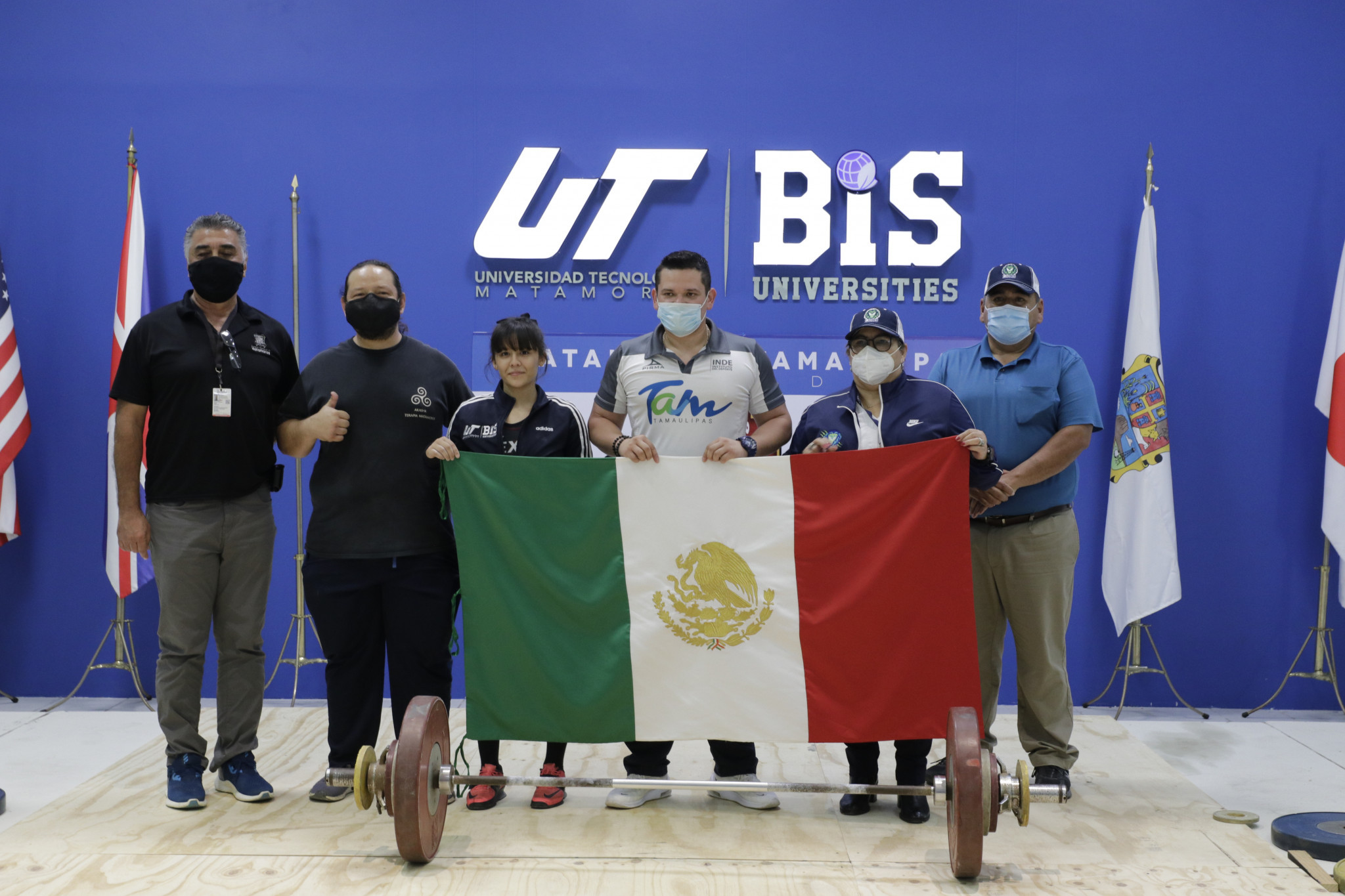 Mexico win four golds on day two of IWF Online Youth World Cup