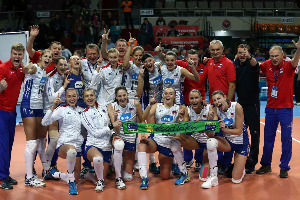 Russia down Dutch to secure Rio 2016 spot at Women's European Olympic Volleyball Qualification tournament