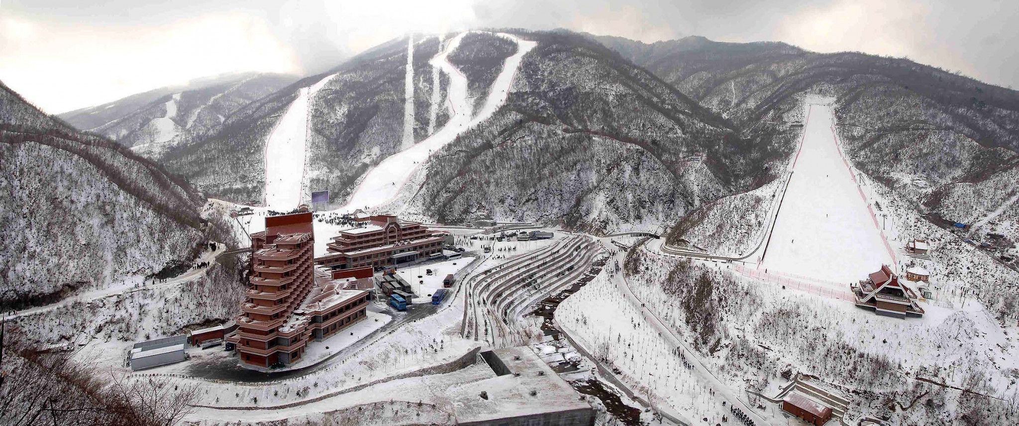North Korean resort Wonsan could stage Alpine skiing and snowboarding if a proposal to co-host the 2024 Winter Youth Olympic Games is given the go-ahead ©International Tourist Zone