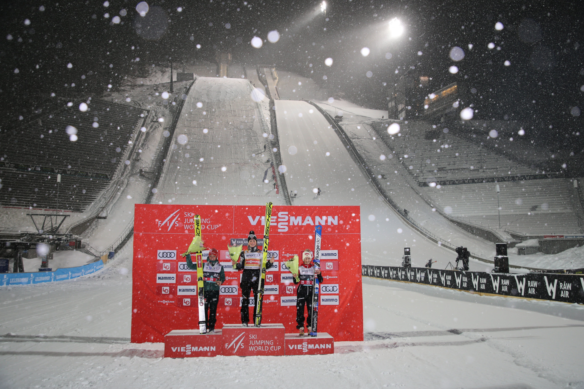 The women's Ski Jumping World Cup season was due to start in Lillehammer, but has now been delayed due to the coronavirus pandemic ©Getty Images
