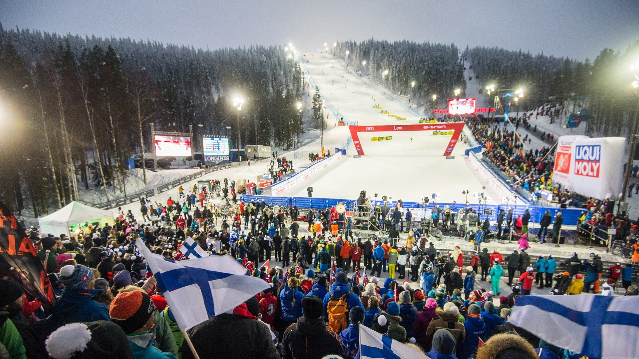 Levi Alpine Ski World Cup given green light thanks to snow import